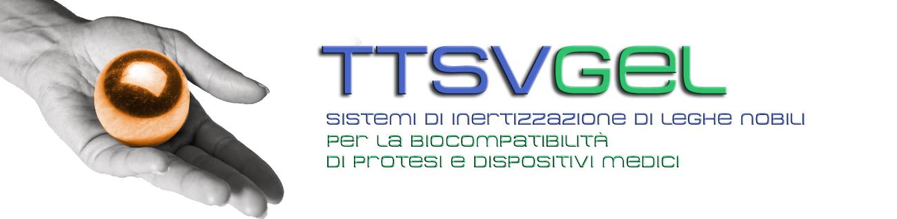 TTSVGEL trattamento di inertizzazione cinetica per protesi biocompatibili